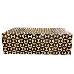 Black and White Decorative Box, Contemporary
