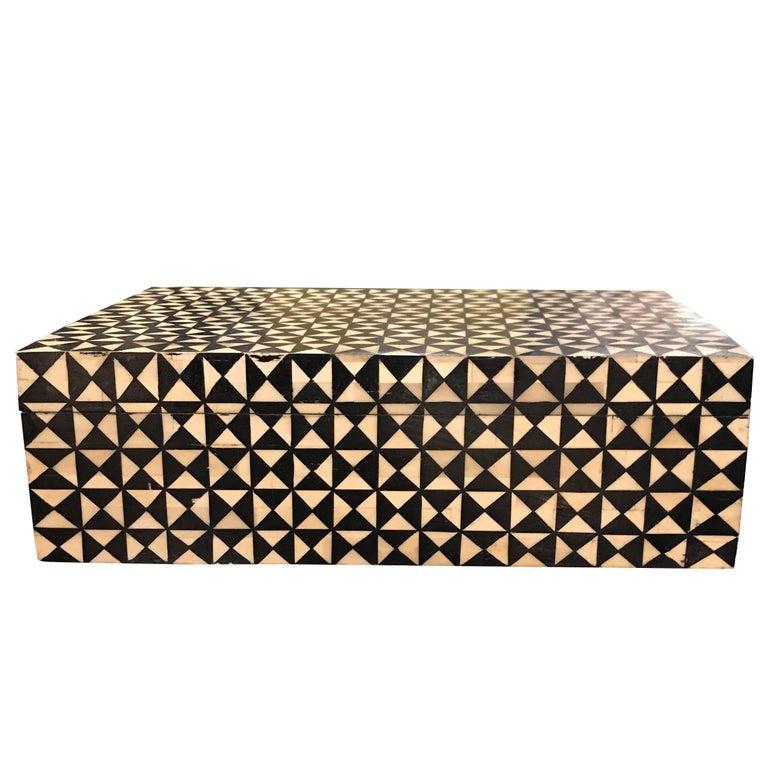 Black and White Decorative Box, Contemporary