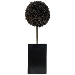 Signed George Jolley Vintage Metal Sculpture after Harry Bertoia
