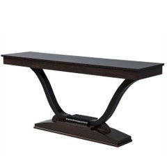 French Antique Art Deco Console Table