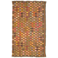 Multicolored Vintage African Ewe Fabric