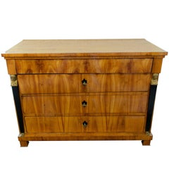 19th Century Biedermeier / Empire Cherrywood Chest of Drawer