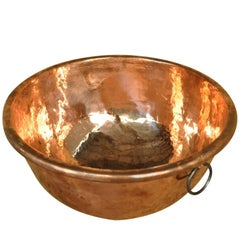 French 18th Century Copper Bowl