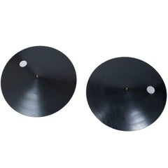 Lunar Eclipse Circular Steel Wall Sconces