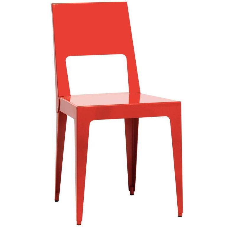 Red Aluchair Colour