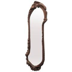 Antoni Gaudi Oak Calvet Mirror