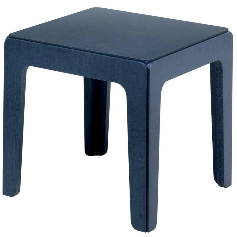 Wood Low Side Table
