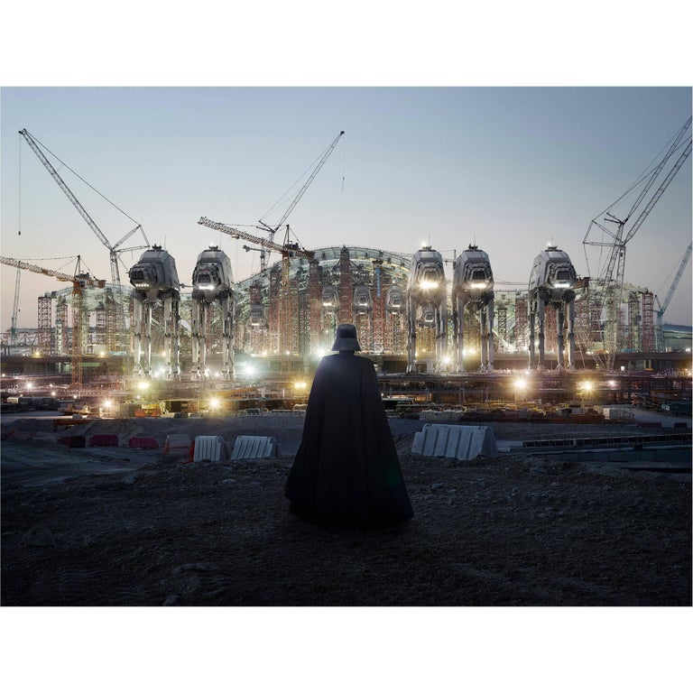 AT-CW1 Base 'darth Vader' Photograph by Cédric Delsaux