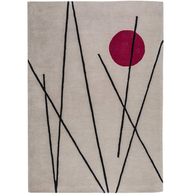 Op Art Tapestry Rug After Andy Warhol For Sale At 1stdibs