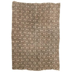 Vintage African Bamana Mud Cloth from Mali