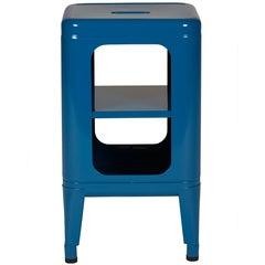 Stool Shelf 500 in Ocean Blue by Frederic Gaunet & Tolix