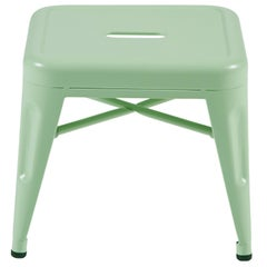 H Stool 30 in Anise Green by Chantal Andriot & Tolix