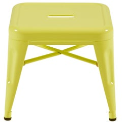 H Stool 30 in Pastel Yellow by Chantal Andriot & Tolix