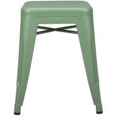 H Stool 45 in Anise Green by Chantal Andriot & Tolix