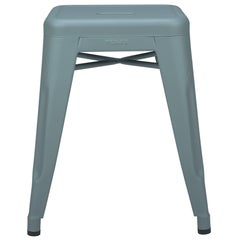 H Stool 45 in Sage Green by Chantal Andriot and Tolix