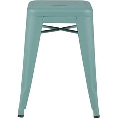 H Stool 50 in Sage Green by Chantal Andriot and Tolix