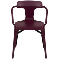 T14 Chair in Aubergine by Patrick Norguet and Tolix