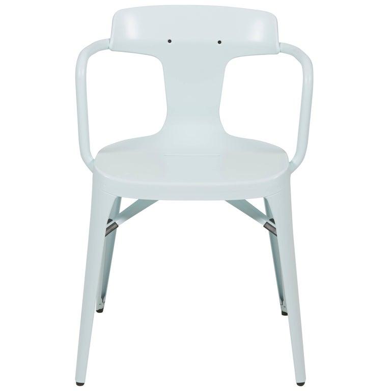 T14 Chair in Glacier Blue by Patrick Norguet & Tolix