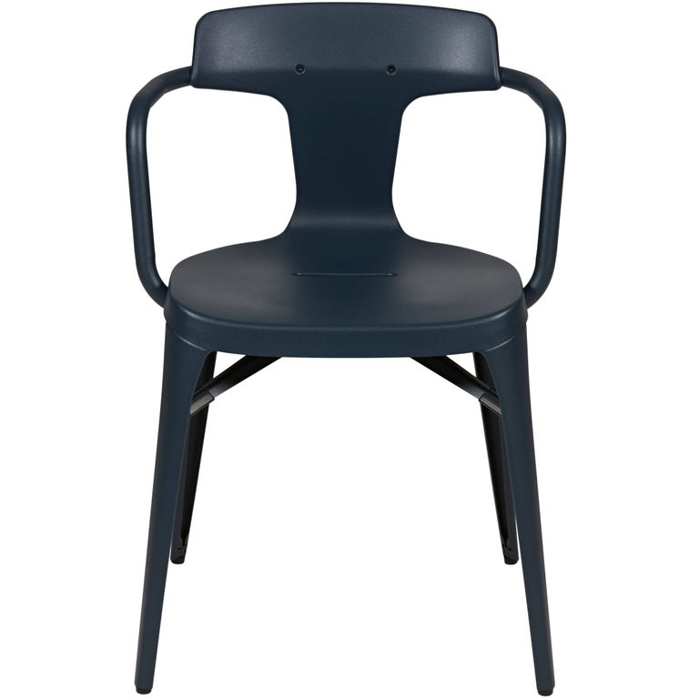 T14 Chair in Midnight Blue by Patrick Norguet & Tolix