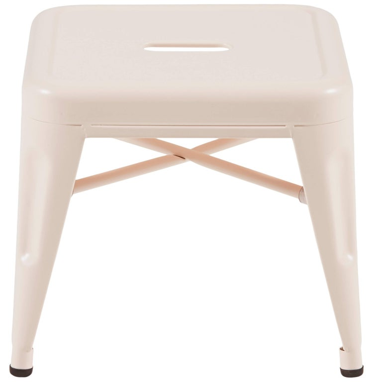 T14 Chair in Powder Pink by Patrick Norguet & Tolix