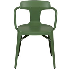 T14 Chair in Rosemary Green by Patrick Norguet and Tolix
