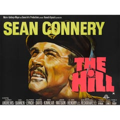 """The Hill"" Original British Film Poster"