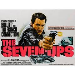 """The Seven-Ups"" Original British Film Poster"