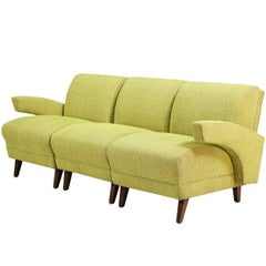 Paul Laszlo Style Modular Seating Sofa