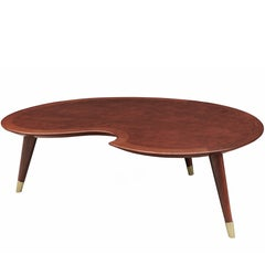 Midcentury Sculptural Coffee Table