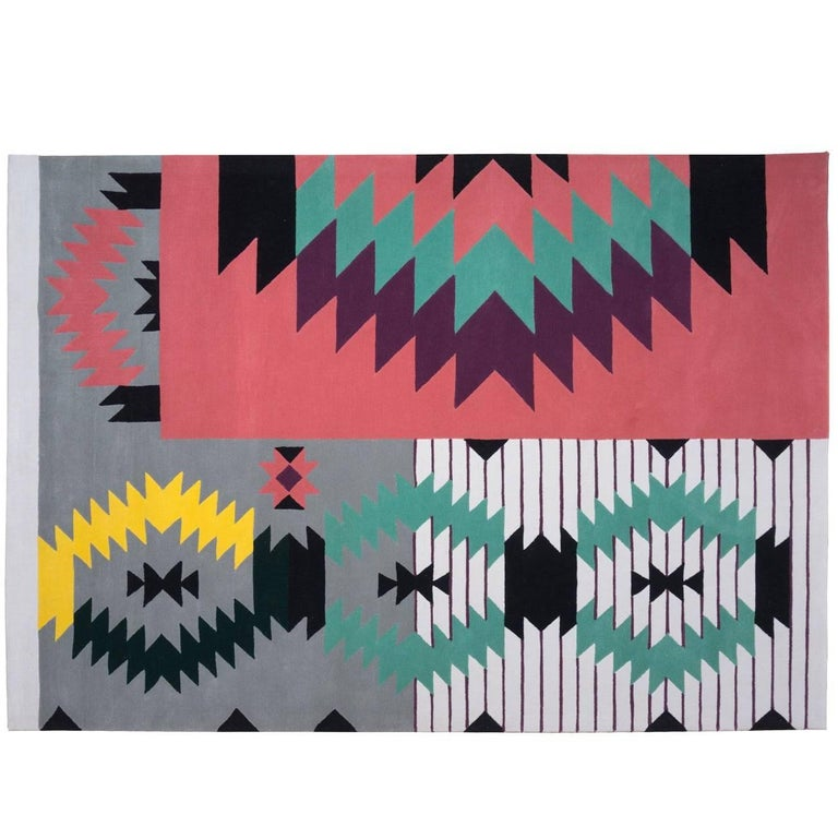 Ironic Rug by Dare to Rug in New Zealand Wool Romanian Collection