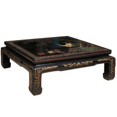 Chinese Lacquered Coffee / Low Table