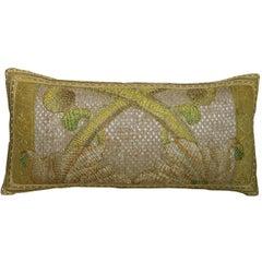 Antique Florentine Tapestry Pillow, circa 18th Century 1697p