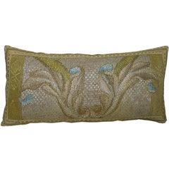 Antique Florentine Tapestry Pillow, circa 18th Century 1698p