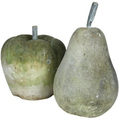 Stone Pear and Apple