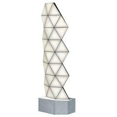 Contemporary Modular Floor Lamp Tri Light Large