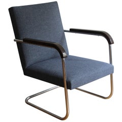 FN 22 Modernist Armchair by Anton Lorenz for Mucke-Melder