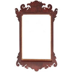 Georgian Style Mahogany Wall Mirror