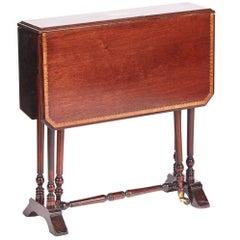 Edwardian Inlaid Mahogany Baby Sutherland Table