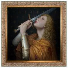 Joan of Arc by Modern Artist Kunlin Lee, Renaissance Style