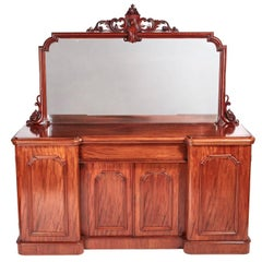 Quality Victorian Mahogany Four-Door Sideboard