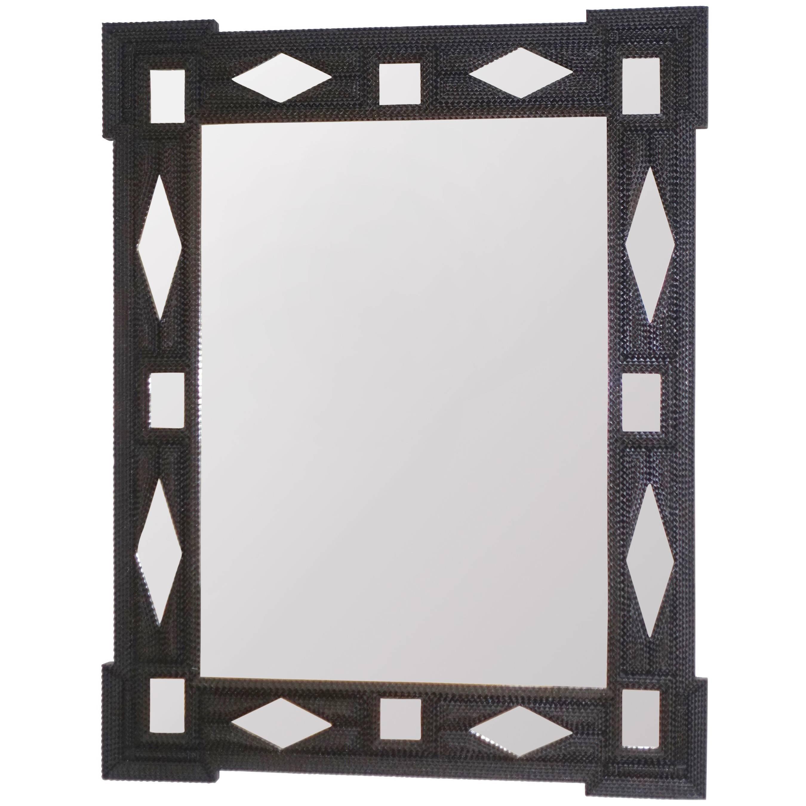 William Kent Style Gilded Frame Mirror, England Circa 1890 (33W