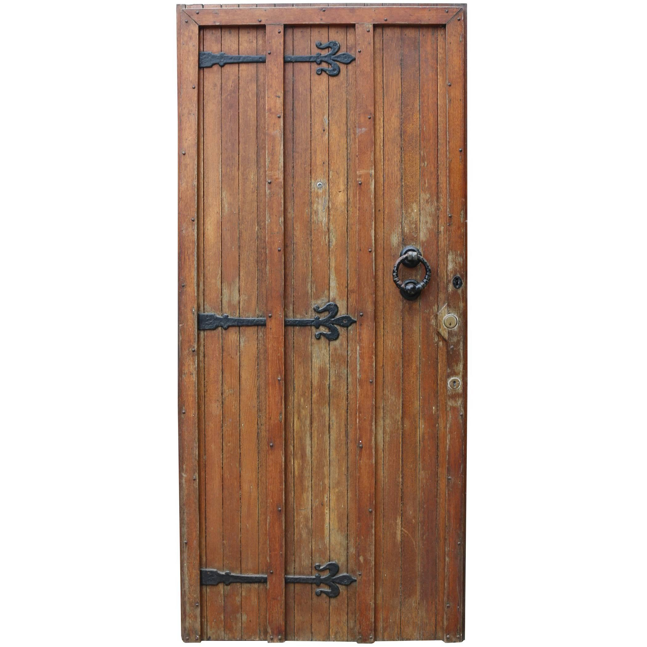 1920s Oak Exterior Front Door  sc 1 st  1stDibs & Medieval Doors and Gates - 27 For Sale at 1stdibs