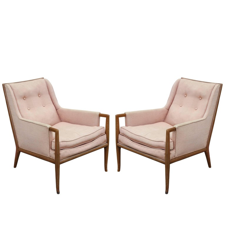 Pair of Robsjohn-Gibbings for Widdicomb Lounge Chairs For Sale