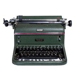 """Vintage Typewriter from Sweden Midcentury from """"Halda"""""""
