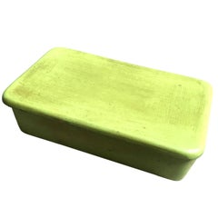 Raymor Lime Green Ceramic Box