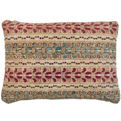 Antique Greek Island Embroidery Pillow