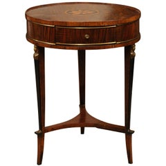 Early 19th Century Italian Walnut Gueridon