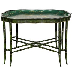 Victorian Papier Mâché Tray Top Coffee Table