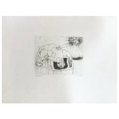 Hideo Hagiwara Japanese Woodblock Print