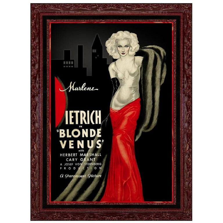 Blonde Venus, after Vintage Movie Poster, Hollywood Regency